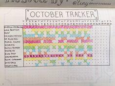 Bohoberry Bullet Journal Habit Tracker