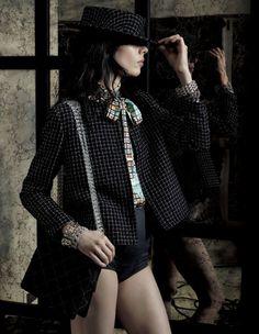 somerollingstone:  Jamie Bochert by Mark Segal for Vogue Japan...