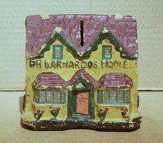 Barnardo's Charity Collecting Box