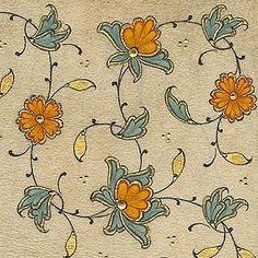 garden of the far east Islamic Motifs, Islamic Art Pattern, Arabic Pattern, Pattern Art, Islamic Calligraphy, Calligraphy Art, Illuminated Letters, Illuminated Manuscript, Medieval