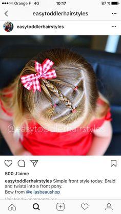 Unas lindas trensas para tu nena