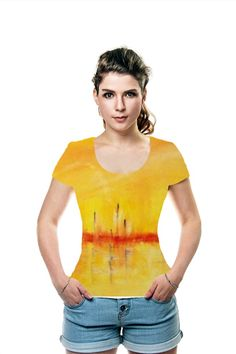 By Pierre-Paul Marchini. All Over Printed Art Fashion T-Shirt by OArtTee