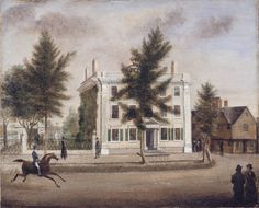 Pickman-Derby-Brookhouse-Waters House by Mary Jane Derby, 1825.