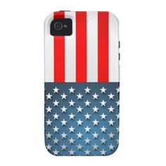 """50% OFF! TODAY ONLY! Use code: """" SOOMANYCASES """" ***Ends Nov. 26, 2014 11:59 pm PT*** USA Flag Case-Mate iPhone 4 Case"""