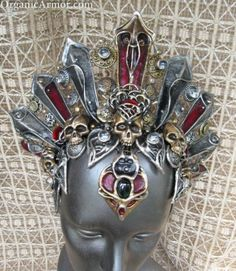 queen of skulls akasha headdress damned crown