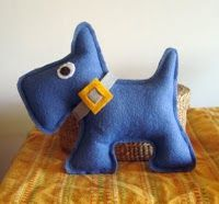 Super-cute Scottie dog. Love the color and the details!