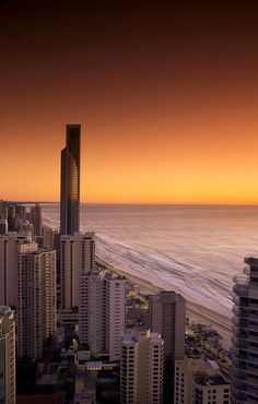 Gold Coast (Surfers Paradise), Queensland Australia. Q1 - tallest residential tower in the world, well it was when I was there!