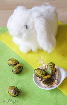 Töltött minitojások húsvétra – Kisbogár