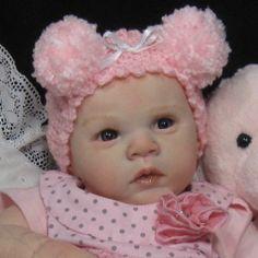 "Reborn OOAK Baby Girl Doll ""Gabriel"" by Michelle Fagan now ~Carleigh~"