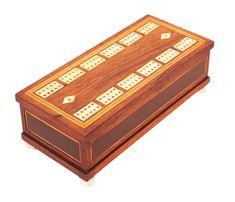OnlineGalleries.com - Antique Regency Rosewood Domino Games Box