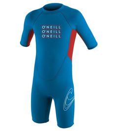 Oneill Toddler Wetsuit Reactor Short Sleeve Springsuit