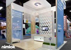 Nimlok has 40 years of experience building custom trade show displays and exhibits. For Exhibitor2012 we built a fully custom 20x20 booth to showcase Nimlok on the trade show floor.