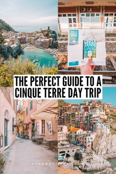 Dying to visit Cinque Terre? I've crafted your absolute perfect Cinque Terre day trip itinerary to visit all five villages! 5 Terre Italy, Cinque Terre Italy, Italy Italy, Toscana Italy, Sorrento Italy, Capri Italy, Naples Italy, Venice Italy, Tuscany
