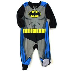 Batman Infant Black Fleece Sleeper Pajamas (18M) DC Comics http://www.amazon.com/dp/B00QKO5VZY/ref=cm_sw_r_pi_dp_z3CMub173X43M