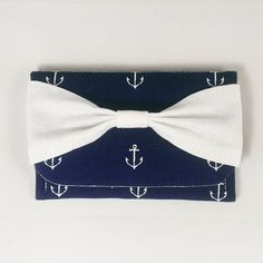 Anchor Bow Wallet   back in stock! Great for credit cards or business cards!  http://ift.tt/1LMhqo9  #cruise #anchor #navyblue #etsy #etsyshop #fireboltcreations #vacation #bow #traveler #etsyseller #airplane #shoplocal #blue #girl #wednesday #vegan #makeup #cute #fashion #gift #giftideas #gifts #handmade #modern #design #cats #accessoryaddict #womeninbusiness #travel #shopping