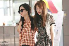 Yuri and sooyoung