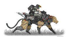 Ideas sci fi concept art animals for 2019 Science Fiction, Character Concept, Character Art, Cyberpunk Kunst, Robot Animal, Wallpaper Animes, Arte Robot, Robot Concept Art, Robot Design