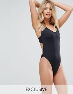 2a3bc88963e1f ... Leg Swimsuit DD-G at asos.com. One Piece SwimwearOne Piece  SwimsuitWomen s SwimwearBlack SwimsuitSwimming CostumeSwim DressMonokiniWomen  SwimsuitsLatest ...
