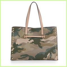 Today Buying - Camouflage Mixed-Media Shopper