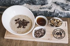 Chocolate Chunks Oatmeal Tgif, Brunch, Cacao, Oatmeal, Chocolate, Tableware, Sweet, Instagram Posts, Chocolate Morsels