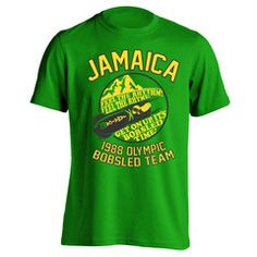 Jamaica 1988 Bobsled Team Men's T-Shirt