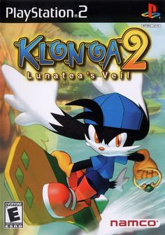 Klonoa 2 puts players in the role of Klonoa, who, along with a new cast of friends, has stumbled into another adventure, this time to save the world of Lunatea and help unveil the mysteries of the enchanted world. The game features gameplay inspired Game Development Company, Video Game Development, Geek Games, Games Box, Playstation 2, Juegos Ps2, Arcade Console, Japanese Video Games, Game Of The Day