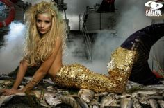 Katherine Moscoso . Colombia's Next Top Model, Cycle 2 Episode 3 > Mermaids on a Military Cruiser by Nicolás Quevedo