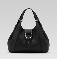 "Gucci ""greenwich"" medium shoulder bag with stirrup detail"