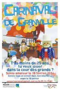 Carnaval de Granville : Faites la première partie des fatals Picards. Le vendredi 28 février 2014 à granville.