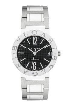 New Ladies Bvlgari Bulgari Black Dial Automatic Watch 101363 Bvlgari Diagono, Bvlgari Serpenti, Bvlgari Gold, Bvlgari Watches, Watch Companies, Watches For Men, Ladies Watches, Private Jet, Italian Fashion