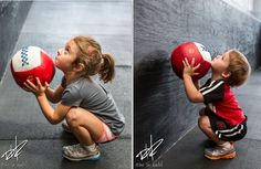 Holy cuteness!!!! CrossFit Kids - good basis for their whole life - to be fit!