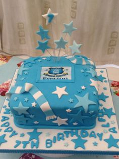 Everton football 60th birthday cake THE DRAGOONS Pinterest