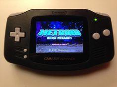 Nintendo Game Boy Advance (GBA) w/ AGS-101 Backlight by RetroBitzGaming