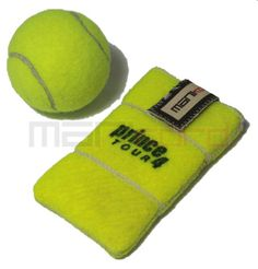 Recycled tennis ball iPhone sleeve!
