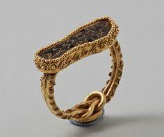 Scythian gold ring II century.Hermitage. #ScythianRing #VonGiesbrechtJewels