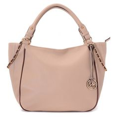 Michael Kors Chain Logo Large Ivory Totes -- lots of bags CHEAP!