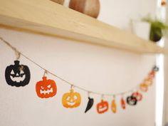 【手作り】作りたくなる!ハロウィンのかわいいガーランドの参考画像集 - NAVER まとめ
