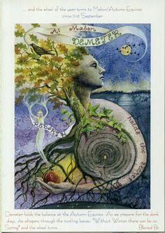 Tarjeta de felicitación Pagano Wicca Handfasting Boda diosa Celta Amanda Clark