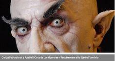 Dal 28 Febbraio al 6 Aprile il Circo de Los Horrores vi farà tremare allo Stadio Flaminio