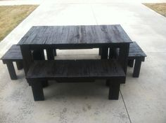 Sixteen Seater Pallet Dining Table | Pallet Furniture