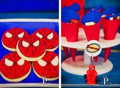 imagenes de decoracion de mesa de HOMBRE ARAÑA - Buscar con Google