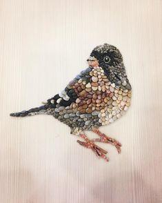 81 vind-ik-leuks, 7 reacties - Mosaic,art,pebblemosaic (@fatma___dmr) op Instagram: '#taş #çakıltaşı #kuş #bird #mozaik #mozaika #pebbleart #pebblemosaic #bahar'