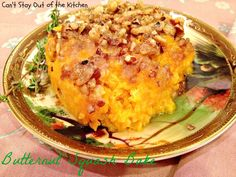 Butternut Squash Bake via Can't Stay Out of the Kitchen - the BEST butternut squash recipe you'll ever taste!