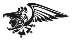 aguila mexico - Buscar con Google Body Art Tattoos, Tribal Tattoos, Mexico Tattoo, Greek Mythology Tattoos, Aztec Culture, Aztec Warrior, Mexico Art, Aztec Art, Calf Tattoo
