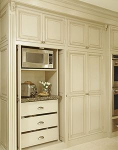 StandardPaint kitchen with floor to ceiling