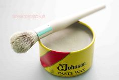 Good chalk paint and wax tutorial