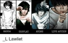 Image result for L cosplay