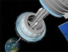 Space Elevator GEO Station by FlyingSinger, via Flickr