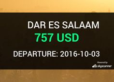 Flight from Houston to Dar Es Salaam by Avia    BOOK NOW >>>