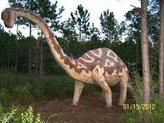 Dinosaur in the woods Elberta, AL